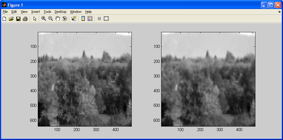 What is linear interpolation in image processing | Coding