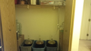 The brewing room.